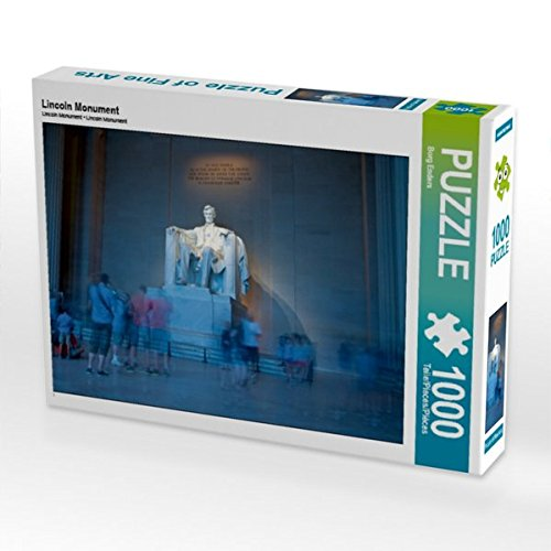 Lincoln Monument 1000 Teile Puzzle quer