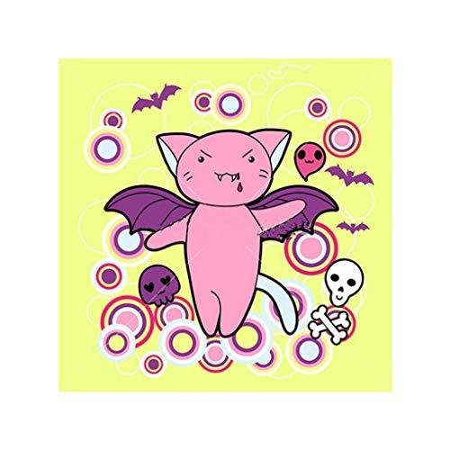 Gankmachine 5D Strass DIY Halloween-Mädchen Cat Spinne Owl Painting-Kreuz-Stich-Diamant-Stickerei-Näharbeit-Geschenk Bürodekoration
