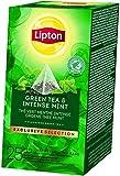 Lipton Grüner Tee & Intensive Minze Pyramidbeutel, 1er Pack (1 x 113 g)