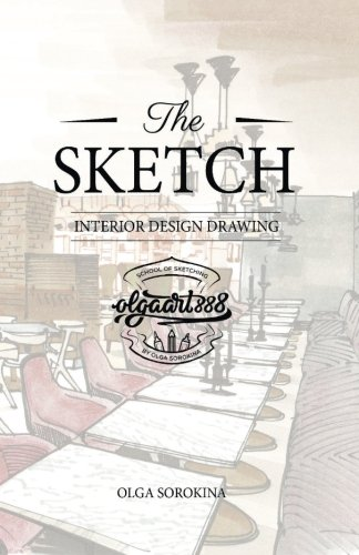 The SKETCH: Interior design drawing por Mrs. Olga Sergeevna Sorokina