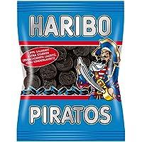 Haribo Piratos, Regaliz, Dulce de Regaliz, Golosina, En Bolsa, Bolsa, 200 g