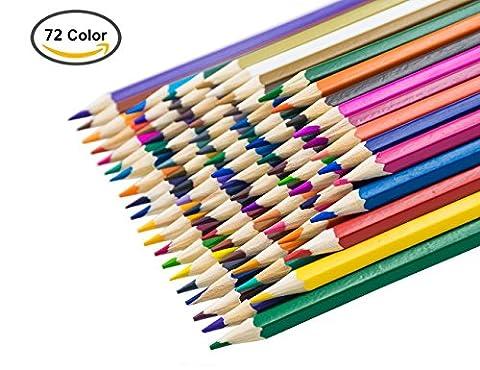MODA 72 * Crayons de Couleur d