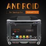 20,3cm Android 7.1OS GPS Kapazitive Touchscreen Head Unit in Dash Video Auto DVD Player Autoradio Elektronik CD MP3MP4Auto Stereo Radio Multimedia für Kia Sportage 2010–2014mit Kamera