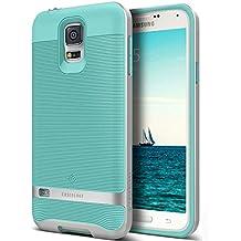 Funda Galaxy S5, Caseology® [Serie Wavelength] Duradero Antideslizante Gota de Protección [Turquesa] para Samsung Galaxy S5 (2014) - Turquesa