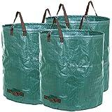 Songmics 3er sac à déchets de jardin 272L GTS272L