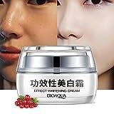 Whitening Cream Bleaching Hydration Feuchtigkeits, Reichhaltige Gesicht Hautpflege Bleaching Macht die Haut glatt und geschmeidig Feucht und glatt Hell