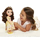 Jakks Pacific Disney Princess-Bambola Belle 35cm, Multicolore, 78847