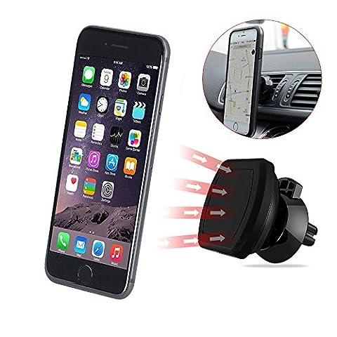 Handyhalterung Auto, CUXUS KFZ Halterung Universal Autohalterung Lüftung Magnet Handyhalter