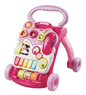 VTech Baby 80-077054 - Spiel und Laufwagen, rosa (B0085IYMA8) | Amazon price tracker / tracking, Amazon price history charts, Amazon price watches, Amazon price drop alerts