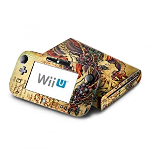 DecalGirl Nintendo Wii U Skin Design Aufkleber Sticker Set – Dragon Legend
