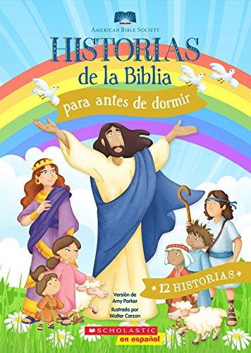 Historias de la Biblia para antes de dormir por Amy Parker