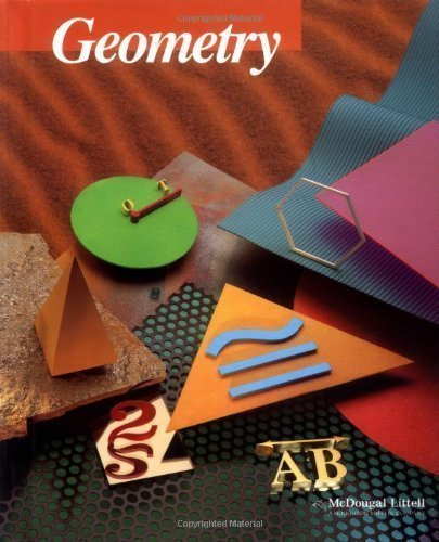 McDougal Littell Jurgensen Geometry: Student Edition Geometry 2000 2000 edition (authors) Ray C. Jurgensen, Richard G. Brown, John W. Jurgensen (1999) published by Houghton Mifflin McDougal Littell [Hardcover]