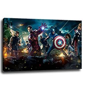 The avengers bild auf leinwand 100x70 cm - Leinwand amazon ...
