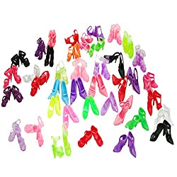 Imported 40pair/Set Assorted Shoes for 29cm Barbie Dolls Random Color/Style-57000036MG