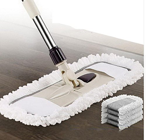 GAOJIAN Haushalt flacher Mop 360 Grad kann gedreht werden langlebig Leicht zu reinigen Weiten Sie die Platte Skalierbar einstellbar