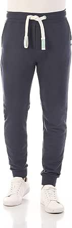 riverso Pantalon de survêtement RIVTim pour Homme - Pantalon de Jogging - Pantalon de Sport - Pantalon de Loisirs - Uni - Coton - Noir, Gris, Rouge, Marron, Vert, Bleu, S, M, L, XL, XXL