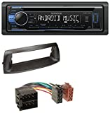 caraudio24 Kenwood KDC-110UB 1DIN MP3 USB CD Aux Autoradio für FIAT Punto (1999-2005)