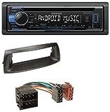caraudio24 Kenwood KDC-110UB 1DIN MP3 USB CD Aux Autoradio für FIAT Punto (1999-2005)