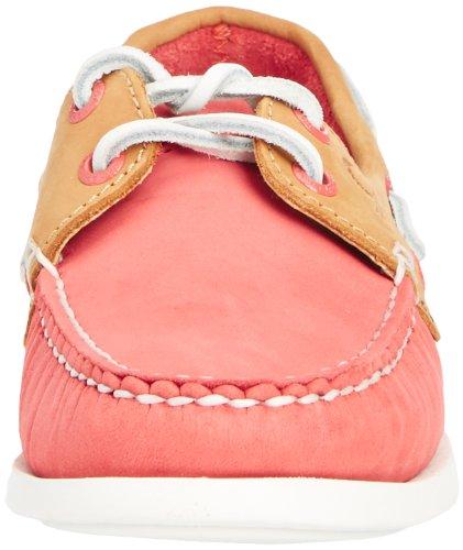 Chatham Marine Pippa, Chaussures Bateau Femme Rose (coral/tan)