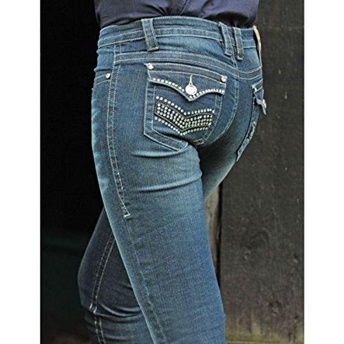 Bottes Jean-Crystal - bleu jeans