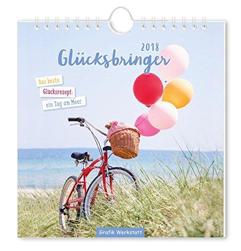 Glücksbringer 2018: Postkartenkalender