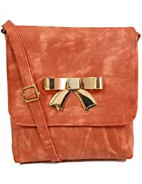 DC's Fashionable And Stylish Bow Designer Sling Bag With Casual And Party Wear Look Bag For Women/Girls - B078WPG43J