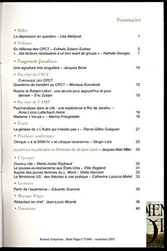 Lettre mensuelle N 262 , Novembre 2007 - Sommaire dans l'image - Pierre-Gilles Guguen (La gense de