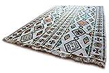 200x135 cm Orientalischer Teppich, Kelim,Kilim,Carpet,Bodenmatte,Bodenbelag,Rug Damaskunst S 1-4-43