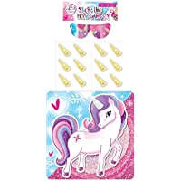 HENBRANDT Unicorn Stick The Horn On The Unicorn Party Game