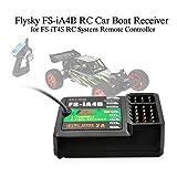 Festnight Ricevitore per Auto Flysky FS-iA4B RC 2.4GHz 4CH 4.0-6.5V DC per FS-I10 FS-I6 FS-GT2F FS-GT2G Telecomando per Sistema FS-IT4S FS-I6S