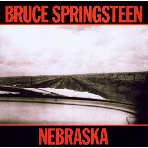 NEBRASKA VINYL LP 1982 WITH INNER LYRIC CBS BRUCE SPRINGSTEEN
