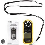 JZK®GM816 Digital viento anemómetro termómetro de medición de la velocidad con la batería