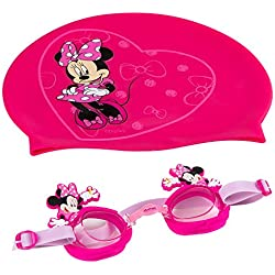 Eolo - MINNIE MOUSE Gorro & gafas natación infantil (ColorBaby 53457)