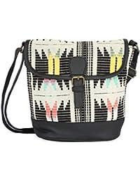 Kanvas Katha Women's Sling Bag (Multicolor) (KKRJQ028)