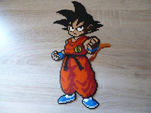 SpriteGoku - dragon ball - Dragon ball Super - Dragon ball Kai• Hama Beads - Pixel Art - Perler Beads - Fuse beads