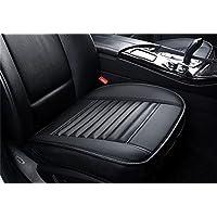 BEIGE Auto Sitzbezüge PU Leder Sitzkissen Atmungsaktiv für VW Audi Mercedes LKW