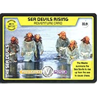 Doctor Who Monster Invasion Extreme Card #319 Sea Devils Rising