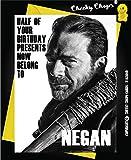 Geburtstagskarte, Motiv: Negan, The Walking Dead, Geburtstagskarte für Freunde, Humor C252