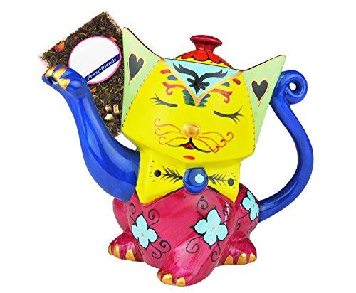 jameson-tailor-1844-teiera-in-forma-di-gatto-giallo-rosa-blu-tee-probe-brocca-caraffa-di-design-09l-