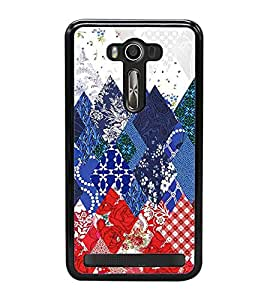 Fuson Premium 2D Back Case Cover Designed Pattern With Pink Background Degined For Asus Zenfone Selfie::Asus Zenfone Selfie ZD551KL