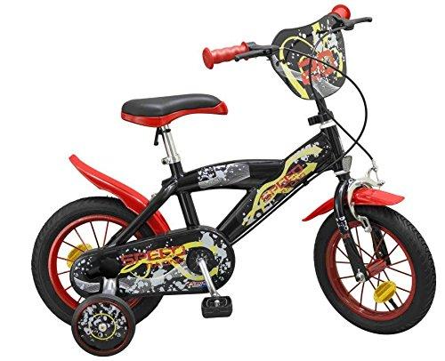 """12 Zoll 12"""" Kinderfahrrad Kinder Jungen Fahrrad Rad Bike Bmx Jungenfahrrad SPEED ROT"""