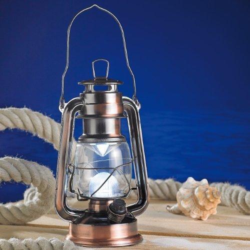 Lanterne LED style Tempête