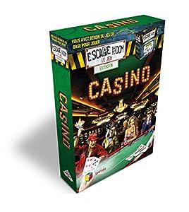 Identity Games Escape Room The Game Casino Adultos Juego de Pensamiento Lateral - Juego de Tablero (Juego de Pensamiento Lateral, Adultos, 60 min, Niño/niña, 16 año(s), 99 año(s))