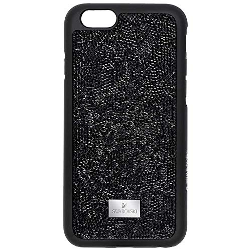 Glam rock smartphone custodia con paraurti, iphone® 7plus, nero