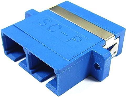 Cablematic - Coupleur fibre optique SC à SC duplex monomode