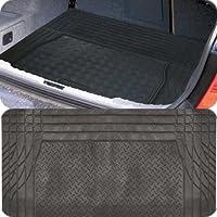 Motionperformance Essentials Universal Black Tough Heavy Duty Rubber Car Interior Protection Boot Mat Liner