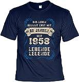 Cooles T-Shirt zum 60. Geburtstag T-Shirt 60 Jahren seit 1958 Lebende Legende Geschenk zum 60 Geburtstag 60 Jahre Geburtstagsgeschenk 60-jähriger