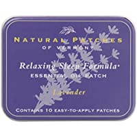 Naturopatch Of Vermont Aromatherapy Body Patches, All Natural Sleep Aid, Lavender, 10-Count Tin