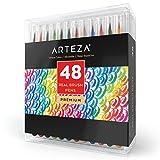 Rotuladores Arteza, 48 colores con tinta a base de agua