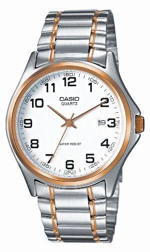 Casio  MTP-1188G-7BER – Reloj de cuarzo para hombre, con correa de acero inoxidable, color plateado
